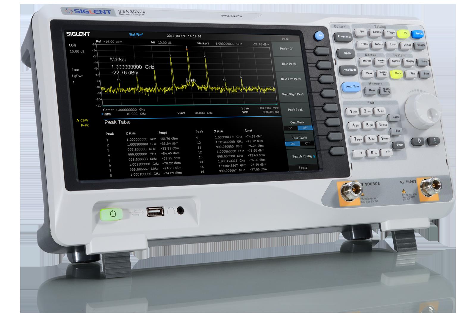 SSA3000X Series Spectrum Analyzers | Siglent