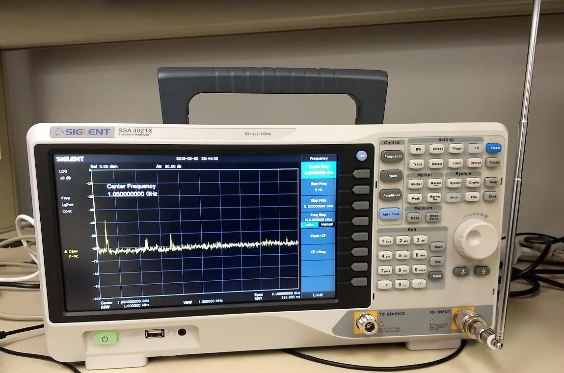 Amateur radio spectrum analyzer — pic 7