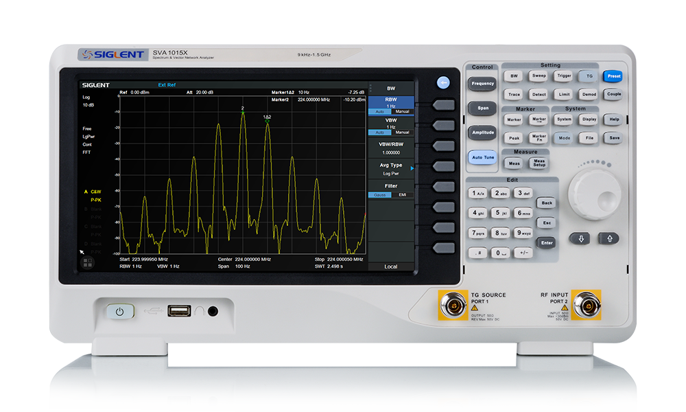SVA1000X Spectrum & Vector Network Analyzer | Siglent