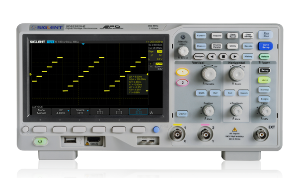 SDS2000X-E Series Super Phosphor Oscilloscopes | Siglent