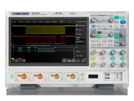 Digital Oscilloscope for Testing Electronic Signals   SIGLENT