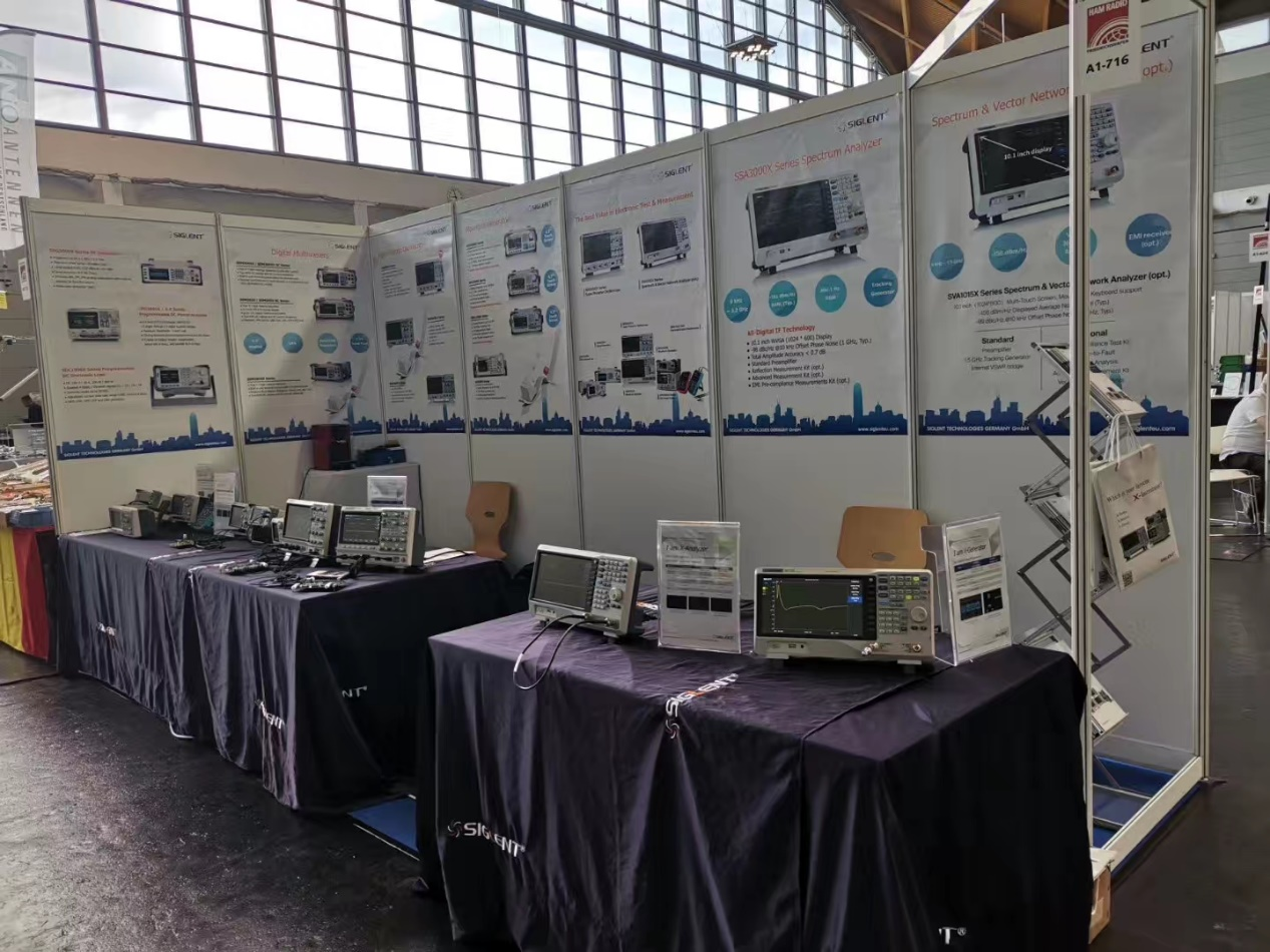 SIGLENT Technologies Exhibits at International Amateur Radio