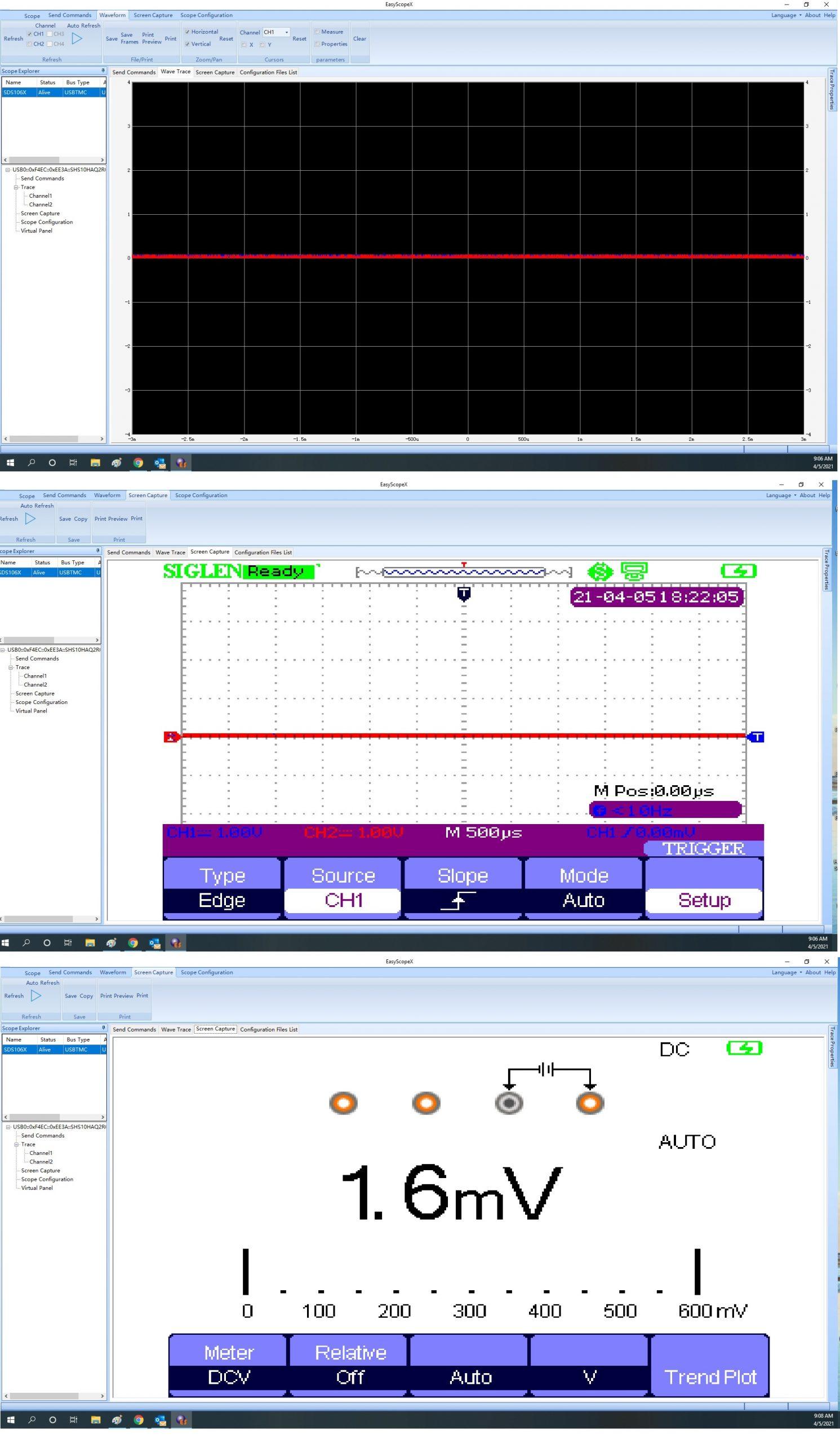 SHS EasyscopeX functions